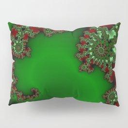 Mandelbrot - Green Pillow Sham
