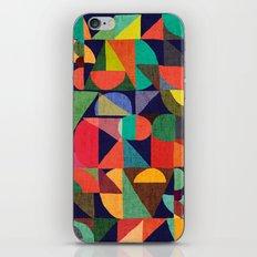 Color Blocks iPhone & iPod Skin