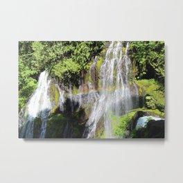 Rainbow at Panther Creek Falls Metal Print
