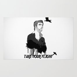 Take Your Flight  Rug