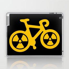 Radioactive Bicycle Laptop & iPad Skin