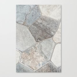 Natural Stone Canvas Print