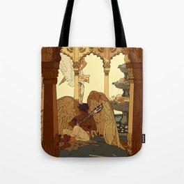 Angels in Oasis Tote Bag
