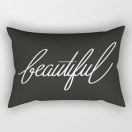 Beauty in the Darkness Rectangular Pillow