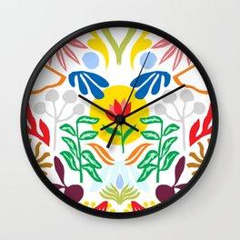 Heart of the Jungle Wall Clock