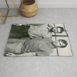 Allen Ginsberg and Jack Kerouac Rug