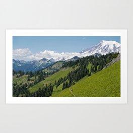 Tatoosh Ridge  Art Print