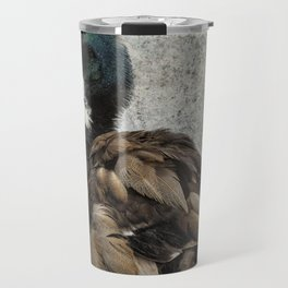 Pretty Mallard Cross Travel Mug