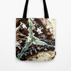 Green Vein Tote Bag