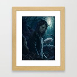 The Prince Of Midnight Framed Art Print