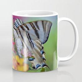 Southern swallowtail or zebra butterfly Coffee Mug