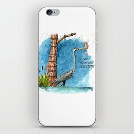 Mississippi Great Blue Heron iPhone Skin
