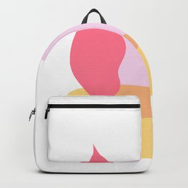 Organic Nature on Pebbles 2 Backpack