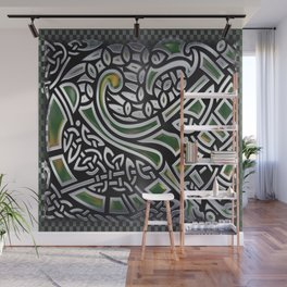 Celtic Birds Knot Work 3D Wall Mural
