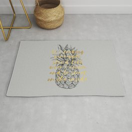 Be A Fucking Pineapple Rug