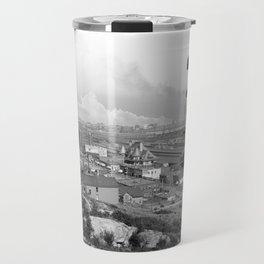 Old Time Godzilla Travel Mug