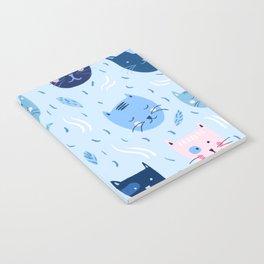 Little blue cats Notebook