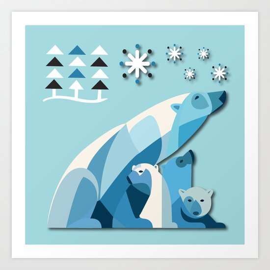 Polar Bear No. 2 Art Print