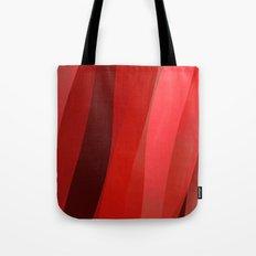 Red Twist Tote Bag