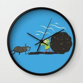 Dung Roller Katamari Wall Clock