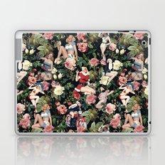 Floral and Pin Up Girls Pattern Laptop & iPad Skin