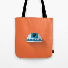R2D2 2015 Flat Design Episode VII Tote Bag