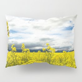 Fields of yellow - Floral Photography #Society6 Pillow Sham