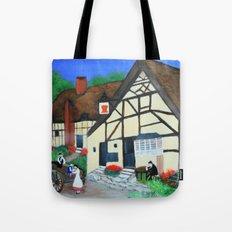 Old Village  Tote Bag