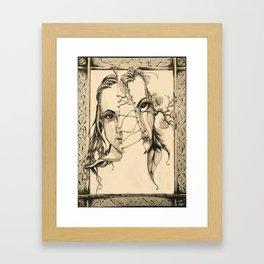 Bipolar by Kate Morgan Framed Art Print