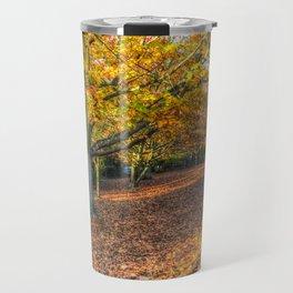 An English Autumn Travel Mug