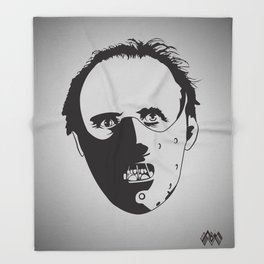 Dr. Hannibal Lecter Throw Blanket