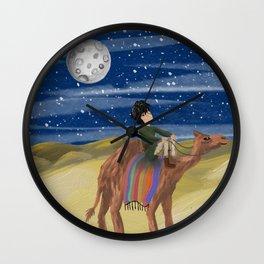 The Boy's Journey Wall Clock