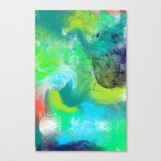 Abstrait Canvas Print