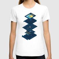 blueprint T-shirts featuring Blueprint Waka-Waka by Manny Peters Art & Design