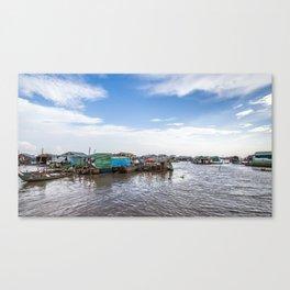 Chong Khneas Floating Village VI, Siem Reap, Cambodia Canvas Print