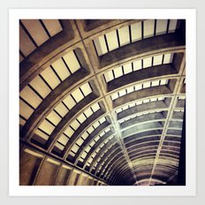 Petworth Metro (Washington, DC) Art Print
