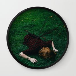Hold Me Distant Wall Clock