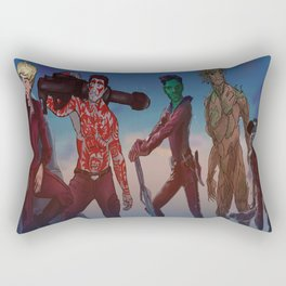 Guardians of the Galaxy Direction  Rectangular Pillow