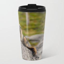 Loud Mouth Marmot Metal Travel Mug