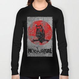 Nocturnal - Grunge Owl Long Sleeve T-shirt