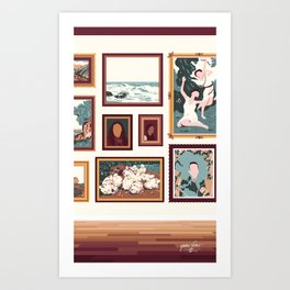 "Sanctuary XXIX - ""Gallery Wall"" Art Print"