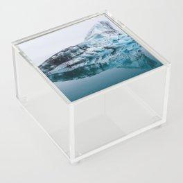 Jökulsárlón Glacier Lagoon Acrylic Box