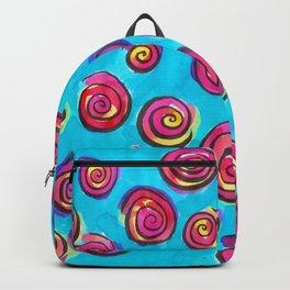 Swirls for Twirls Backpack