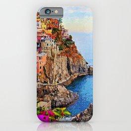 Italy, Cinque Terre iPhone Case