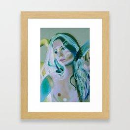 Innocence Verde Framed Art Print