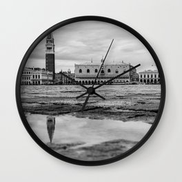 Gloomy Venice Wall Clock