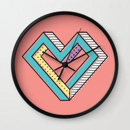 le coeur impossible (nº 2) Wall Clock