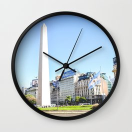 BUENOS AIRES - ARGENTINA Wall Clock