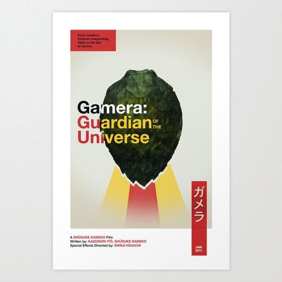Guardian of the Universe Art Print