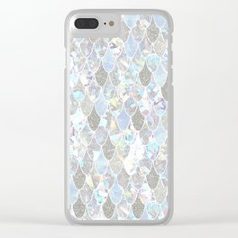Holographic Mermaid Clear iPhone Case